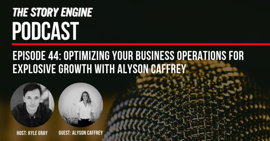 Optimizing Your Business Operations for Explosive Growth with Alyson Caffrey image of Kyle and Alyson
