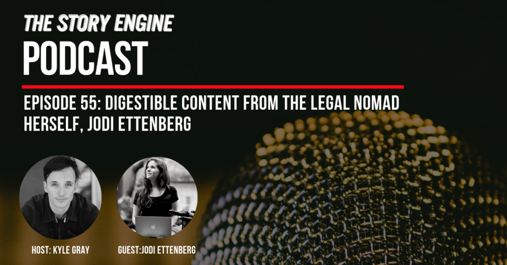 SEP Episode #55: Digestible Content from the Legal Nomad Herself, Jodi Ettenberg